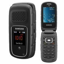 Samsung Rugby 3 III A997 GSM  AT&T, T-Mobile Cellular Flip Phone Unlocked  Black