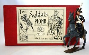 CBG PARIS Toy Metal LES SOLDATS DE PLOMB Commander André Masséna on Horse. Box
