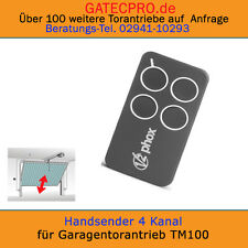 Design Handsender für Garagentorantrieb Funksteuerung 433,92 MHz. Rolling Code