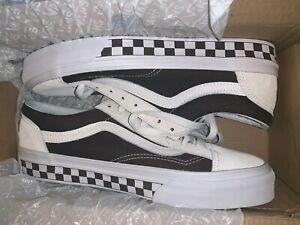 Vans Style 36 BMX Checker Board Sneakers Shoes Brown VN0A3DZ3UD8 Size Mens 10