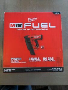 M18 FUEL 3-1/2 in. 18-Volt 21-Degree Cordless Framing Nailer (Tool-Only)