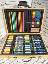 Valigetta in legno kit colori 70 pezzi assortiti art graphic Faber Castell