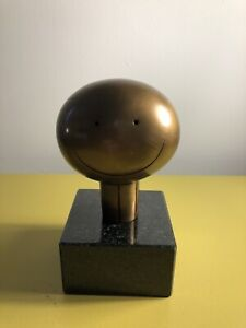 Doug Hyde Sculpture -Mini Bronze Smile( the box of love set) Brand New with COA.