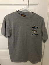 Officially Licensed NYPD Gray Shirt Size M Medium New York Police Department
