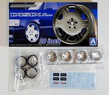 "Aoshima 1/24 Glassenheit Revo 20"" Wheel & Tire For Plastic Models 5373 (40)"