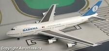 Aeroclassics Sabena Boeing B 747 1:400 Diecast Plane Model F-BPVJ