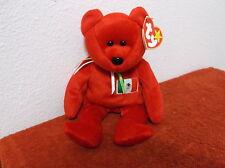 """TY""  BEANIE BABIES...""OSITO""  D.O.B.....FEBRUARY 5, 1999....RETIRED..#115"