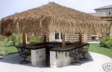 "TIKI THATCH PALAPA PALM GRASS RESORT GRADE 30""X30' ROLL"