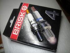 ►4X BRISK AOR10LGS=RG4HC,RG92C,RGU92C Spark Plugs SUZUKI GSXR1000,600,750,DR350