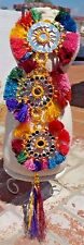 AFGHAN TRIBAL COLORFUL TASSEL BELLY DANCE GYPSY  COSTUME HOME DECOR W/ FREE SHIP