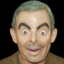 adulto Mr Bean Disfraz Cabeza Completa Máscara de látex TV Película famoso nuevo