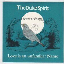 (EY966) The Duke Spirit, Love is an Unfamiliar Name - 2005 DJ CD