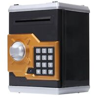 Electronic ATM Safe Piggy Bank Toy with Password, Money Coin Savings Box for Kid