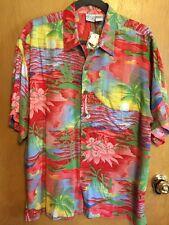 NWT Original Princess Cruises Hawaiian Style Shirt - Men's Size Large