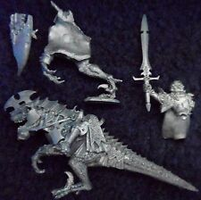 2007 Dark Elf Dreadlord on Cold One Citadel Lords & Heroes Cavalry Knight Army