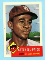 1953 Topps Archives #220 Satchell Paige - St. Louis Browns