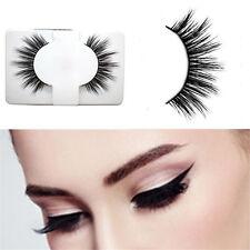 1Pairs False Fake Eyelashes Mink Natural Thick Eye Lashes Soft Makeup Extension