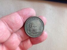 Coin Token Canada Un Sou Halfpenny 1852 Quebec