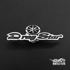 Yamaha Dragstar xvs 125, 250, 400, 650, 1100 Biker Vest Badge, Motorcycle Pin