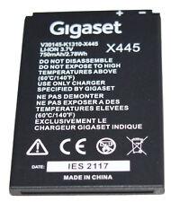 Batterie Originale Gigaset SL450 SL 350 400 78 H V30145-K1310-X445 Li-Ion 3,7V