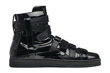 DIOR HOMME AW08 Lumiere Du Nord Hi Top Patent Leather Trainers Sneakers Hedi