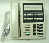 Samsung White / Almond DCS 12B Basic Phone Prostar Renewed Warranty Refurbished