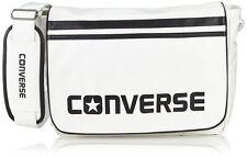 Converse Flap Messenger PU Bag (White)