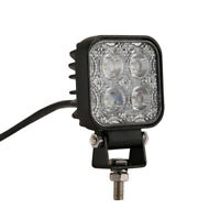 12W 12V 4LED Square Work Light Flood Tractor Car Truck SUV 4WD Bright AU