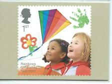 wbc. - GB - PHQ CARDS -2010 - GIRLGUIDING CENTENARY - COMPLETE SET  MINT