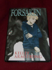 Forsaken by Kelley Armstrong (2014, HC) SIGNED limited first Elena the werewolf