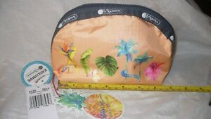 MIP Lesportsac Lauren Roth Auli'i Medium Dome Cosmetic Bag Boutique Exclusive