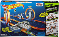 Hot Wheels Track Builder Total Turbo Takeover Track Set