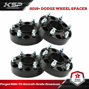 "1.5"" Hub Centric Wheel Spacers 6x5.5 with 14x1.5 Studs for 2019 Dodge Ram 1500"