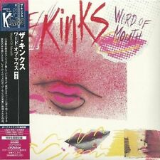 THE KINKS - Word Of Mouth (Mini LP CD, 2007) K2HD JAPAN IMPORT BRAND NEW, SEALED
