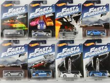 Fast & and Furious 8 pcs Set  Ford Porsche Skyline Honda Supra 1:64 Hot Wheels