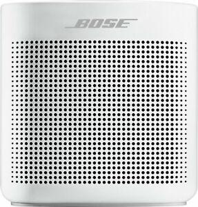 Bose - SoundLink Color Portable Bluetooth Speaker II - Polar White