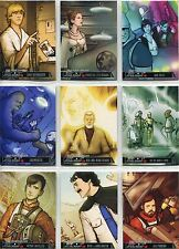Star Wars Illustrated A New Hope Complete One Year Earlier Chase Card Set OY1-18