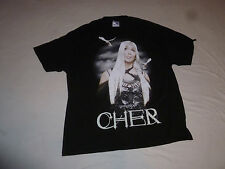 Cher Living Proof Farewell Tour 2002 2003 Concert Shirt Size Xl Black Two Sided