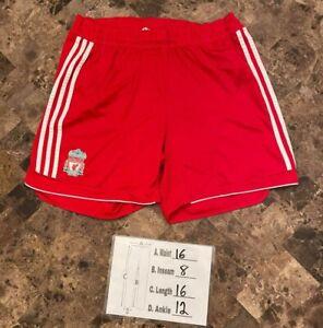 Adidas Liverpool Home 2006 2008 Futbol Soccer Shorts Men's Size Large