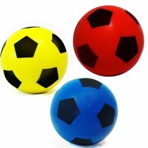 Sponge Foam Football Size 4 - Indoor/Outdoor Soccer Soft Ball for Kids/Children