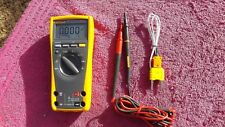 FLUKE 179 *NEAR MINT!* TRUE RMS MULTIMETER!  EVEN MEASURES TEMPERATURE!