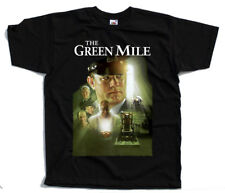 The Green Mile V1, poster, 1999, Tom Hanks  DTG T-SHIRT BLACK all sizes S-5XL