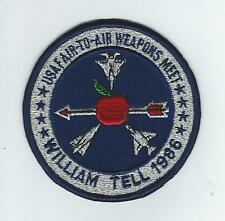 1986 WILLIAM TELL MEET#1(F-106) patch