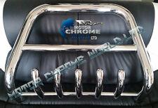 VAUXHALL OPEL COMBO BULL BAR CHROME AXLE NUDGE A-BAR 60mm 2011+Up S.STEEL NEW