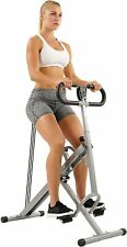 Sunny Health Fitness Squat Assist Row-N-Ride Trainer for Squat Exercise w/ Glute
