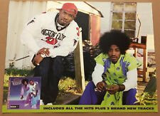 OUTKAST Rare 2001 DOUBLE SIDED PROMO POSTER for Big Boi CD MINT 18x24 USA MINT