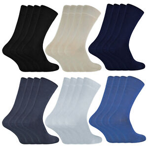 Sock Snob - 4 Pack of Unisex Bamboo Finely Knit Thin Super Soft Suit Dress Socks