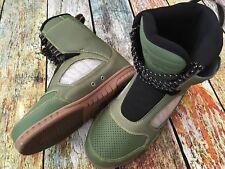 Brand New Men's Jobe Evo Sneaker Morph Green Wakeboard Boots Size 9 Us 43 Eu