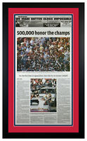 St Louis Cardinals 2006 World Series Parade Original Newspaper 10/30/06 Framed ~