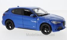 Alfa Romeo Stelvio, metallic-blau  - 1:24 BBurago / burago  *NEW*